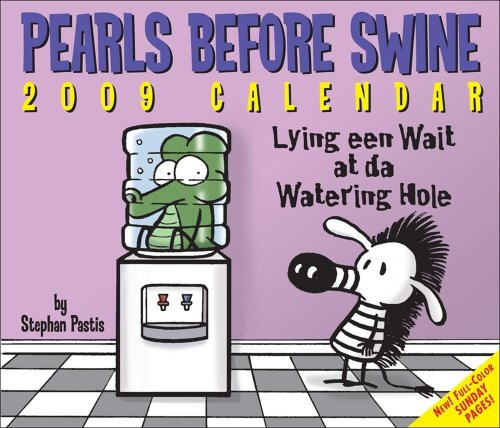 Pearls Before Swine: 2009 Day-to-Day Calendar (0740774875) by Pastis, Stephan