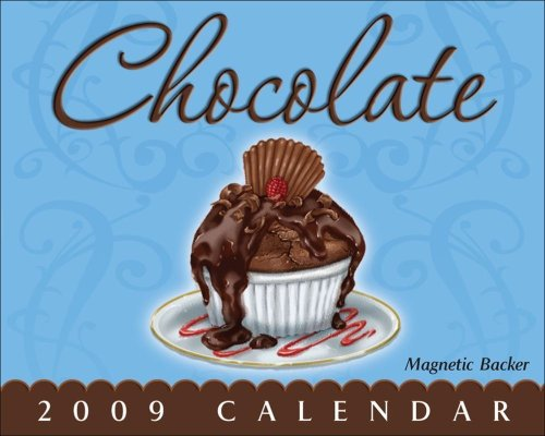 9780740775031: Chocolate Mini Day to Day Calendar 2009