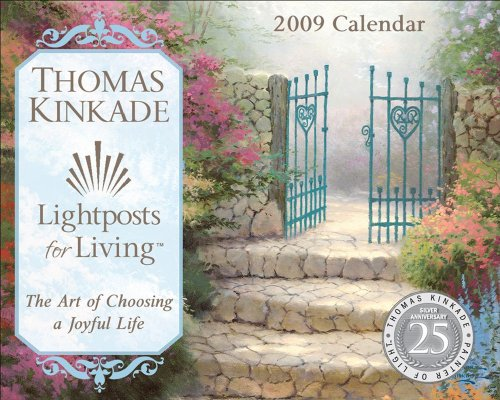 Thomas Kinkade Lightposts for Living?: 2009 Mini Day-to-Day Calendar (0740775359) by Thomas Kinkade