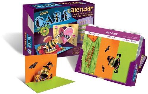 9780740775956: Card Calendar: A Year's Worth of Celebrations: 2009 Day-to-Day Calendar