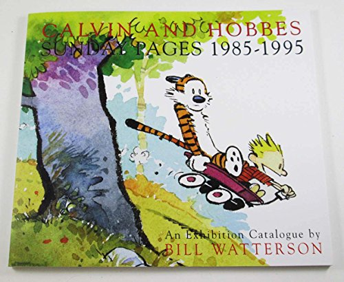9780740777936: Calvin and Hobbes : Sunday Pages 1985-1995 [Paperback] by Watterson, Bill