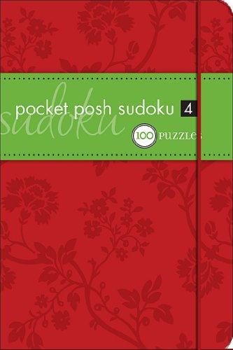 9780740779879: Pocket Posh Sudoku 4: 100 Puzzles