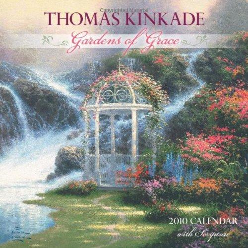 Thomas Kinkade Gardens of Grace With Scripture: 2010 Wall Calendar (0740781618) by Kinkade, Thomas