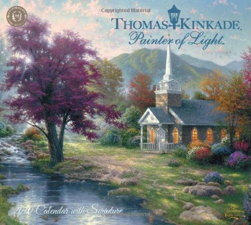 Thomas Kinkade Painter of Light with Scripture: 2010 Wall Calendar: Kinkade, Thomas