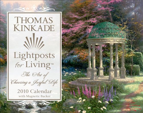 Thomas Kinkade Lightposts for Living: 2010 Mini Day-to-Day Calendar (0740781685) by Thomas Kinkade