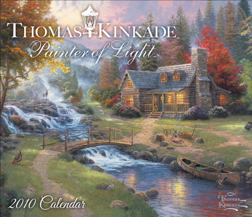 Thomas Kinkade Painter of Light: 2010 Day-to-Day Calendar (0740781723) by Thomas Kinkade