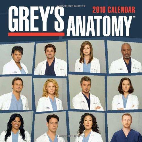 9780740782008: Grey's Anatomy 2010 Calendar