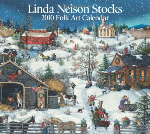 9780740782022: Linda Nelson Stocks Folk Art 2010 Calendar