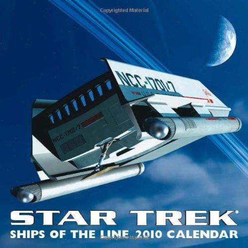 9780740782138: Star Trek: Ships of the Line: 2010 Wall Calendar