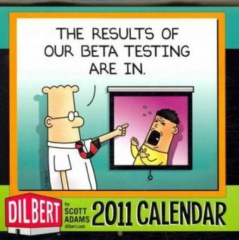 Dilbert: 2010 Mini Wall Calendar: Adams, Scott