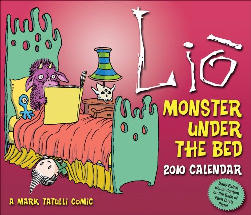 9780740782664: Lio: Monster Under the Bed Calendar