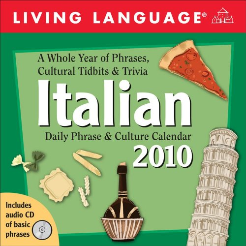 9780740782701: Living Language Italian: 2010 Day-to-Day Calendar