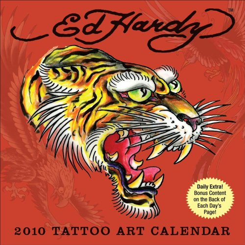 9780740783623: Ed Hardy: 2010 Day-to-Day Calendar