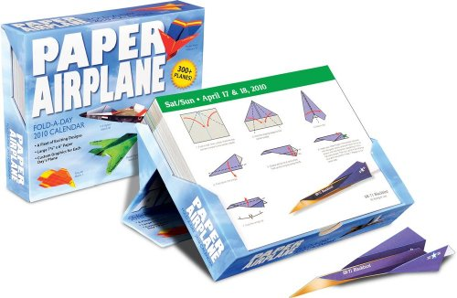 Paper Airplane: Fold & Fly It!: 2010 Day-to-Day Calendar: Accord Publishing