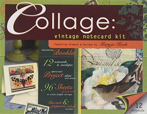 9780740784330: Collage: Vintage Notecard Kit