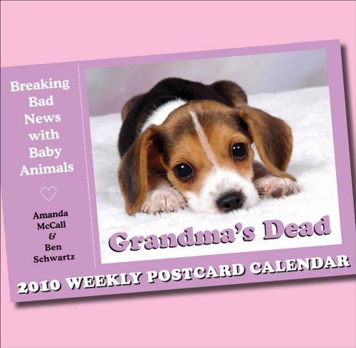 9780740784972: Grandma's Dead: 2010 Postcard Day-to-Day Calendar