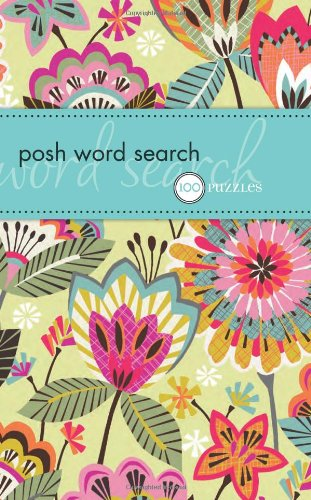 9780740785559: Posh Word Search: 100 Puzzles