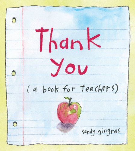 9780740793370: Thank You: (A Book for Teachers)