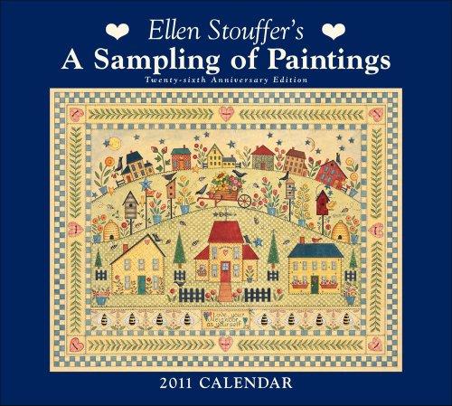 9780740795299: Ellen Stouffer A Sampling of Paintings: 2011 Wall Calendar