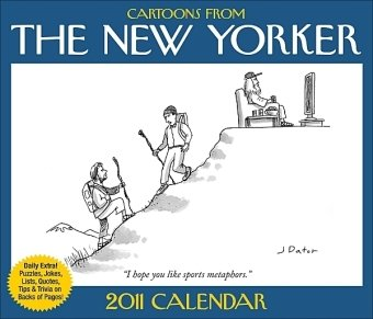 9780740795657: Cartoons from The New Yorker: 2011 Day-to-Day Calendar