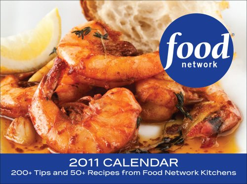 9780740795749: Food Network: 2011 Day-to-Day Calendar