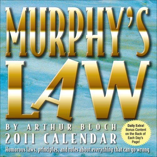 9780740795923: Murphy?s Law: 2011 Day-to-Day Calendar
