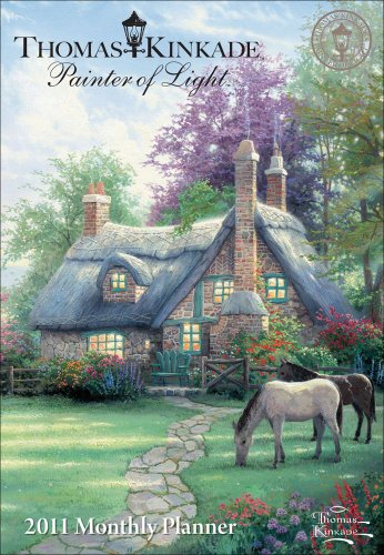 9780740796517: Thomas Kinkade Painter of Light: 2011 Monthly Planner Calendar