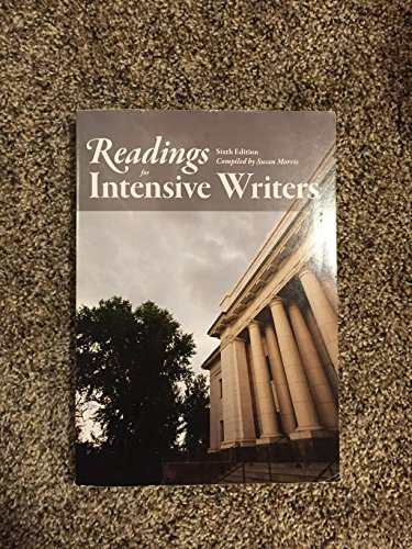 9780740932441: Readings for Intensive Writers Sixth Edition