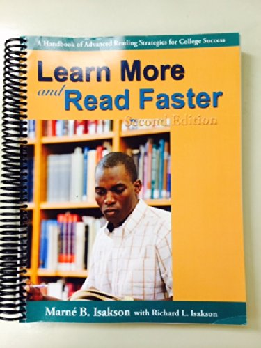 9780740932601: Learn More and Read Faster Second Edition