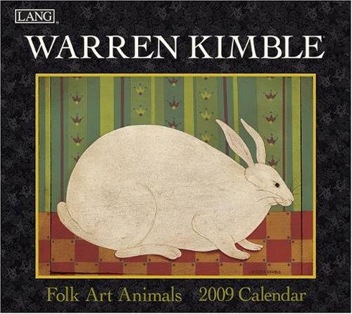 9780741224552: Warren Kimble Folk Art Animals 2009 Calendar