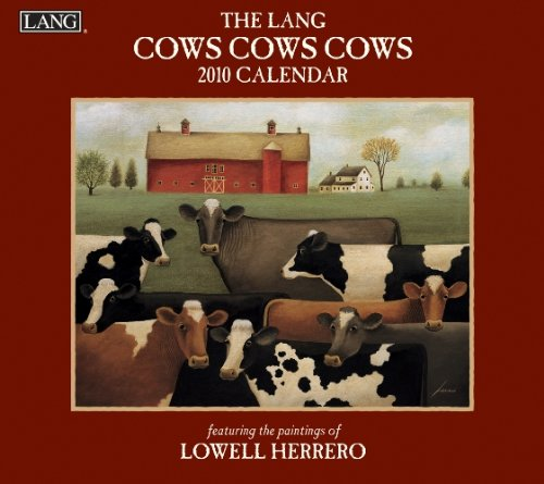 9780741229717: Cows Cows Cows 2010 Wall Calendar