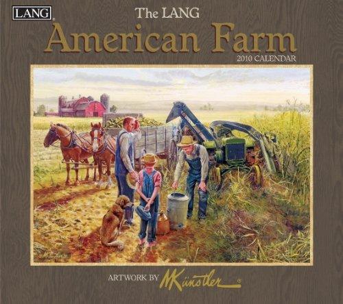 9780741230553: American Farm 2010 Wall Calendar