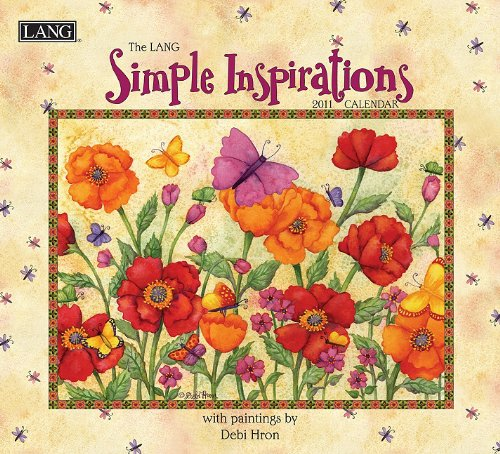 9780741234421: The Lang Simple Inspirations Calendar [With 2 Bookmarks]
