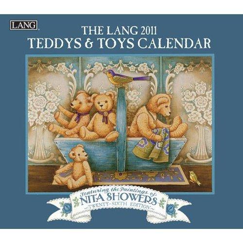 9780741234469: 2011 Teddys And Toys Calendar