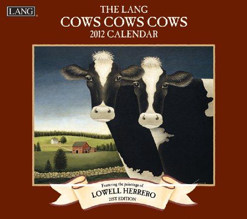 9780741238276: 2012 Cows Cows Cows Wall Calendar