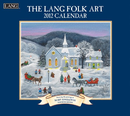 9780741238368: The Lang Folk Art 2012 Calendar