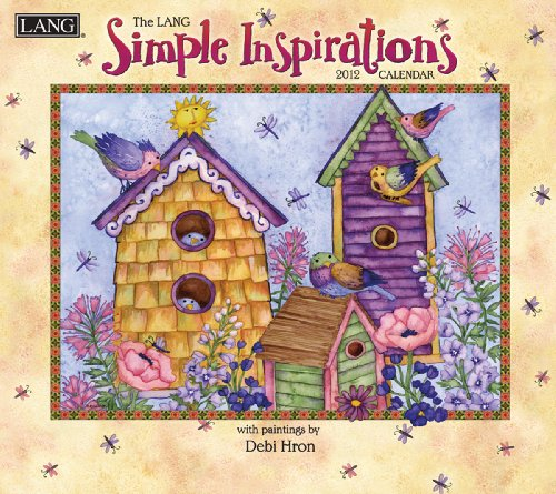 9780741238504: The Lang Simple Inspirations 2012 Calendar