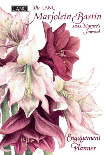9780741239570: Marjolein Bastin Nature's Journal 2012 Calendar: Two Year Planner
