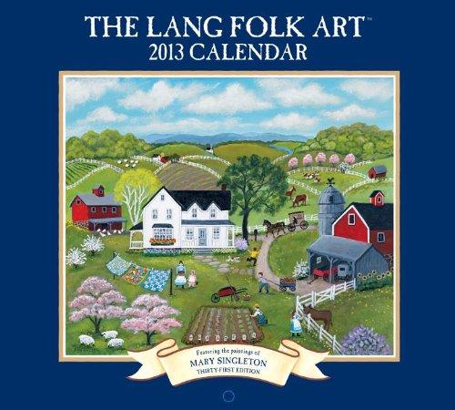 9780741242112: The Lang Folk Art 2013 Calendar