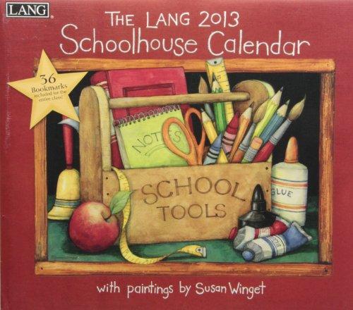 9780741242297: Schoolhouse Calendar 2013