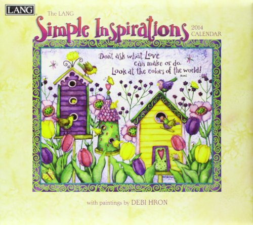 9780741244451: Simple Inspirations 2014 Calendar: Includes Downloadable Wallpapers