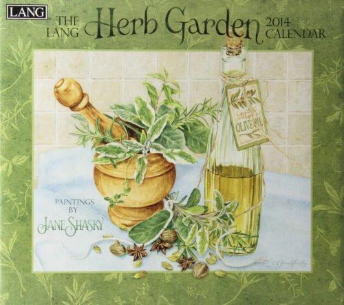 9780741244543: The Lang Herb Garden 2014 Calendar