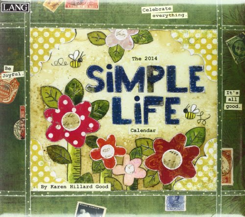 9780741244604: Simple Life 2014 Calendar: Includes Downloadable Wallpapers