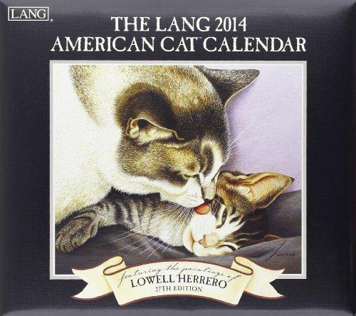 9780741244703: The Lang American Cat 2014 Calendar
