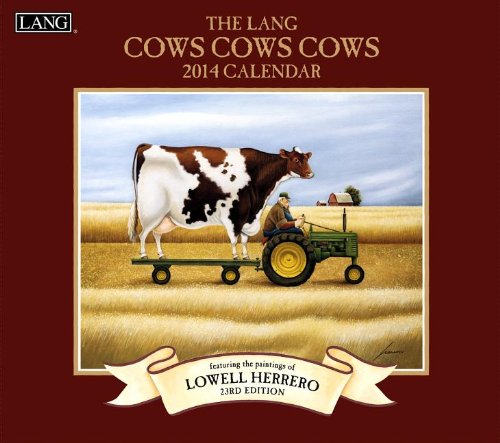 9780741244710: The Lang Cows Cows Cows 2014 Calendar