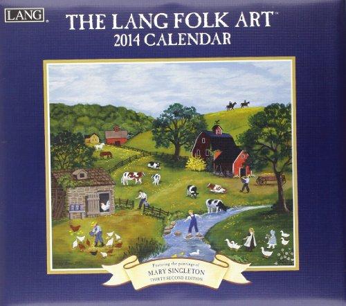 9780741244758: The Lang Folk Art 2014 Calendar
