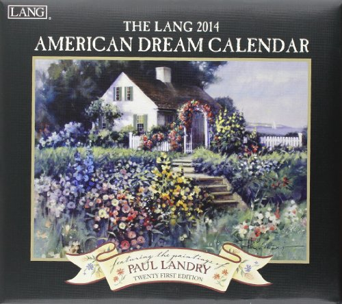 9780741244796: The Lang American Dream 2014 Calendar