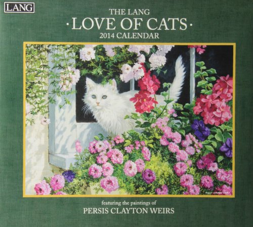 9780741244826: The Lang Love of Cats 2014 Calendar