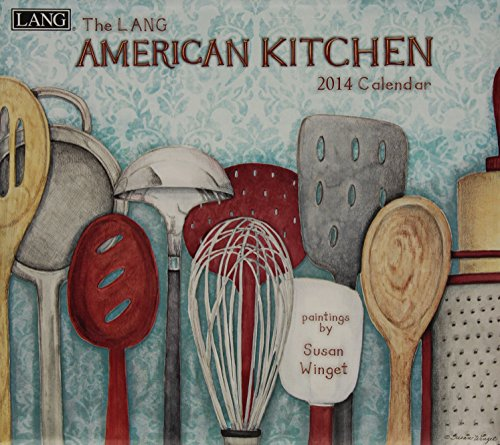 9780741244888: American Kitchen 2014 Calendar
