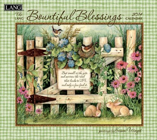 9780741244895: Bountiful Blessings 2014 Calendar